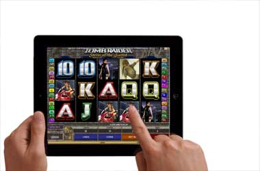 Slots on a tablet